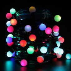 Гирлянда шарики, RGB.