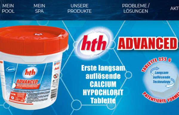 HTH химия для бассейнов