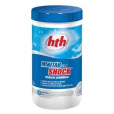Быстрый стабилизированный хлор в таблетках, 20 гр., minitab shock, 1.2 кг, hth - химия для бассейна