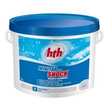 Быстрый стабилизированный хлор в таблетках, 20 гр.,  minitab shock, 5 кг, hth - химия для бассейна