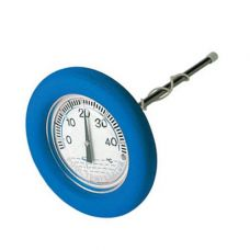 Термометр (градусник) круглый плавающий, для бассейна.