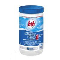 Комплексный препарат, maxitab action 6, 250 г, 1 кг, hth - химия для бассейна